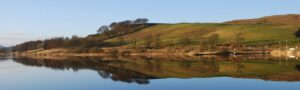 Carron Dam Panorama