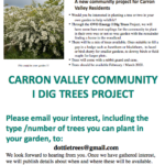 Support wildlife - plant a tree in your garden